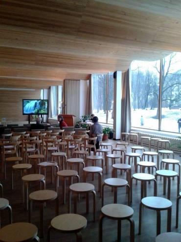 Alvar Aallon suunnitteleman Viipurin pääkirjaston restaurointi on saatu valmiiksi
