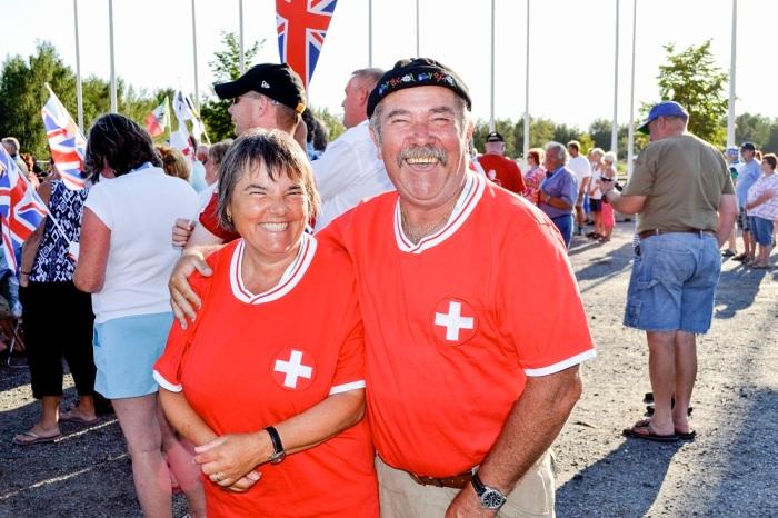 Kuvassa sveitsiläiset Jean-Paul ja Marie.