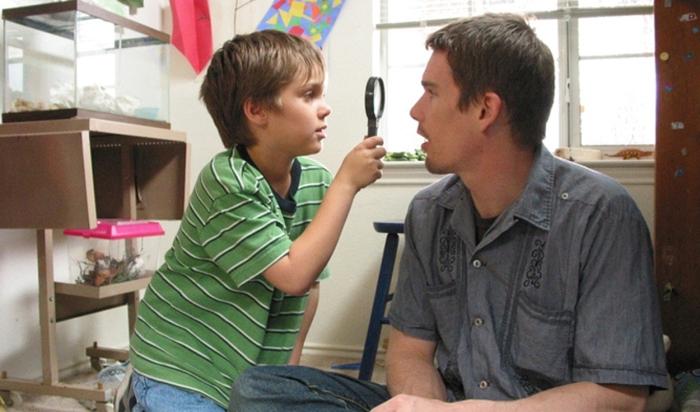 Richard Linklaterin Boyhood seuraa näyttelijä Ellar Coltranen kasvua 8-vuotiaasta täysi-ikäiseksi. Vastanäyttelijänä Ethan Hawke.